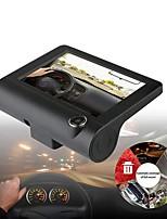 cheap -Dashcam V10 Auto Dvrs 4 Inch Auto Camera Fhd 1080P Auto Recorder Dash Cam 3 Camera Lens
