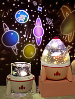 cheap -Dimmable Planet Magic Projector Light Bedroom Decor Star Universe Night Light LED Colorful Rocket Rotary Flashing Projector With Speaker Remote Control Projector Light