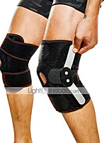 cheap -Double Steel Plate Knee Pads OK Coth Adjustable Knee Pads Strong Support Rehabilitation Sports Knee Pads Patella