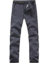 cheap -mens softshell pants waterproof windproof hiking outdoor soft shell trousers 1607 grey x-large
