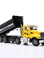 cheap -KDW 1:50 Plastic Alloy Dump Truck Alloy Car Model Simulation All Adults Kids Car Toys