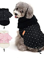 cheap -pet puppy little star coat,pet dog warm winter clothes puppy cats sweater apparel small dog clothes & #40;l, black& #41;