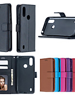 cheap -Case For Nokia  X6 2.1 3.1 5.1 3.1PLUS 5.1PLUS 7.1 6 2018 9PUREVIEW 4.2 3.2 6.2 7.2 2.2 1.3 5.3  Card Holder Shockproof  Flip Full Body Cases Solid Colored PU Leather TPU