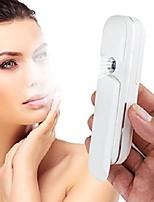 cheap -handy sliding mini handy mist sprayer, usb rechargeable nano ionic cool mist portable mist atomization beauty instrument facial steamer (white)