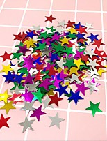 cheap -Five Pointed Star Love Sequins Wedding Ceremony Throwing Paper Decoration