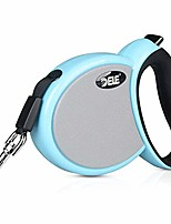 cheap -retractable dog leash, tangle-free walking leash small breed pet leashes for small medium large dogs up to 60 lbs, heavy duty nylon tape, one button brake and lock