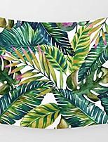 "cheap -fresh banana leaf printed wall art hanging tapestry dorm decor (60"" h x 80"" w,banana leaf4)"