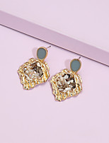 cheap -Women's Drop Earrings Earrings Classic Fashion Classic Elegant Trendy Sweet Fashion Resin Earrings Jewelry Gold For Party Evening Date Vacation Street Festival 1 Pair