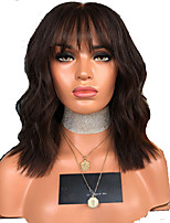 cheap -Synthetic Wig Curly kinky Straight Pixie Cut Wig Short Dark Brown Synthetic Hair Women's Soft Easy to Carry Comfy Dark Brown