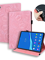 cheap -Case For Samsung Galaxy Tab A 8.0 2019 T290 295 Tab A 8.0 2019 SM-P200 P205 Tab A 8.0 2018 T387V Card Holder Flip Full Body Cases Solid Colored PU Leather