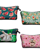 cheap -1pc Travel Organizer Cosmetic Bag Travel Toiletry Bag Large Capacity Waterproof Travel Storage Durable Sloth Polyester For Portable Foldable Luggage