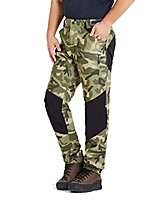 cheap -mens pro hiking stretch pants cargo trouser water-resistant tactical outdoor working pants (green camo, xxxl)