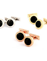 cheap -Cufflinks Simple Basic Brooch Jewelry Golden Rose Gold Silver For Daily Festival