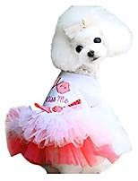 cheap -small dog cat lace skirt princess tutu dress for pet dog costumes (xl, pink)