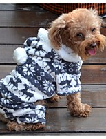 cheap -halloween cosplay custume pet puppy dog clothes luxury deer pattern lovely hoodies coat clothes apparel size xl