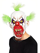 cheap -Joker Mask Halloween Props Adults' Men's Cosplay Halloween Halloween Festival / Holiday Latex White Men's Women's Easy Carnival Costumes