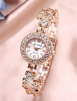 cheap -Women's Quartz Watches Quartz Modern Style Stylish Classic Diamond Analog Rose Gold Purple Red / Chronograph / Imitation Diamond