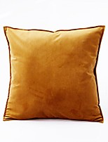 cheap -1 Pc Luxury Velvet Solid Color Pillow Case Cover Living room Bedroom Sofa Cushion Cover