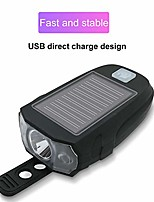 cheap -solar power usb charging t6 bike light bicycle front handlebar cycling led lamp