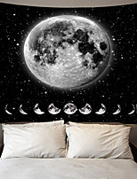 cheap -Wall Tapestry Art Decor Blanket Curtain Picnic Tablecloth Hanging Home Bedroom Living Room Dorm Decoration Polyester Moon Phase