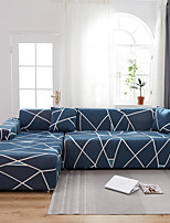 cheap -Stretch Slipcover Sofa Cover Couch Cover Line Printed Sofa Cover Stretch Couch Cover Sofa Slipcovers for 1~4 Cushion Couch with One Free Pillow Case