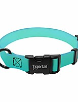 cheap -urban nomad dog collar – lightweight waterproof & odor proof dog collar – small, teal