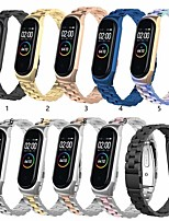 cheap -Watch Band for Xiaomi Mi Band 4 Xiaomi Business Band Stainless Steel Wrist Strap