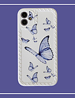 cheap -Case For Apple iPhone 11 Pattern Back Cover Butterfly TPU Case For iPhone 11 Pro Max / SE2020 / XS Max / XR XS 7 / 8 7 / 8 plus