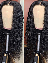 cheap -Synthetic Wig Afro Curly with Baby Hair Wig Very Long Natural Black Synthetic Hair 62-66 inch Women's African American Wig Black