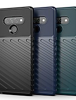 cheap -Case For LG Stylo 6 LG G8X ThinQ LG K50S Shockproof Ultra-thin Back Cover Solid Colored TPU Case For LG V60 LG K51 LG K41S