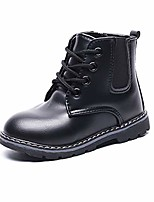 cheap -kid girls outdoor ankle boots toddler zip waterproof walking shoes for boys black toddler 8.5m