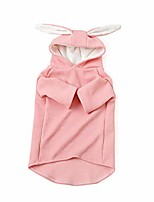 cheap -pets dog shirt clothes rabbit ear hooded puppy hoodie for small dogs by conwinart