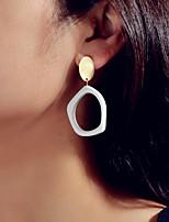 cheap -Women's Drop Earrings Geometrical Fashion Earrings Jewelry White For Date Birthday