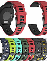 cheap -Watch Band for Vivomove / Vivomove HR / Forerunner 645 Garmin Classic Buckle Silicone Wrist Strap