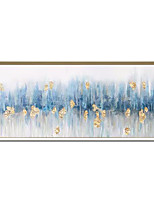 cheap -Oil Painting Hand Painted - Abstract Landscape Comtemporary Modern Rolled Canvas (No Frame)