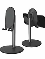 cheap -phone stand for desk, cell phone stand adjustable desk phone holder tablet holder phone dock (black)
