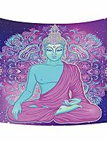 cheap -zen meditation buddha pattern tapestry wall art hanging headboard bedroom dorm living room decor