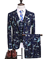 cheap -Tuxedos Tailored Fit Peak Single Breasted One-button Polyester Animal / Classic