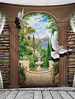 cheap -Landscape Wall Decor 100% Polyester Classic / Modern Wall Art, 150*100 cm Decoration