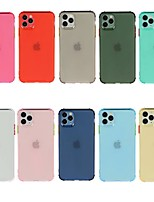 cheap -Case For Apple iPhone 11 iPhone 11 Pro iPhone 11 Pro Max Shockproof Transparent Back Cover Solid Colored TPU for iPhone Xs Max Xr Xs X
