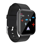 cheap -696 R3L Unisex Smartwatch Smart Wristbands Bluetooth Touch Screen Heart Rate Monitor Blood Pressure Measurement Sports Information Pedometer Sleep Tracker Find My Device