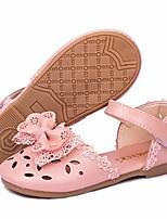 cheap -toddler kids girl's mary jane ballerina flat slip on princess dress dance party sparkle wedding ballet school uniform church shoes