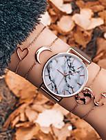 cheap -Women's Quartz Watches Quartz Vintage Style Modern Style Classic Chronograph Crystal Rose Gold Analog - Rose Gold