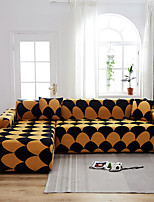 cheap -Stretch Slipcover Sofa Cover Couch Cover Geometric Printed Sofa Cover Stretch Couch Cover Sofa Slipcovers for 1~4 Cushion Couch with One Free Pillow Case