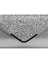 cheap -women evening envelope handbag party bridal clutch purse shoulder cross body bag rhinestones wrist bag (style 5# silver)