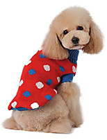 cheap -dog sweater puppy cute winter clothes for small pet