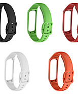 cheap -Watch Band for Samsung Galaxy Fit E SM-R375 Samsung Galaxy Classic Buckle Silicone Wrist Strap