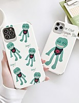 cheap -Case For iPhone 7 8 7plus 8plus X XR XS XSMax SE(2020) iPhone 11 11Pro 11ProMax Shockproof Ultra-thin Pattern Back Cover Word Phrase Animal Cartoon TPU