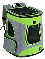 cheap -sturdy hiking pet carrier backpack for pets up to 16lb -upgrade version with side pockets