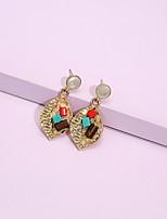 cheap -Women's Drop Earrings Earrings Classic Fashion Classic Elegant Trendy Sweet Fashion Earrings Jewelry Gold For Party Evening Gift Date Street Festival 1 Pair